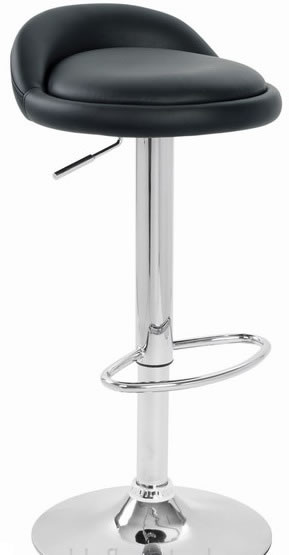 Cayshon Bar Stool Black