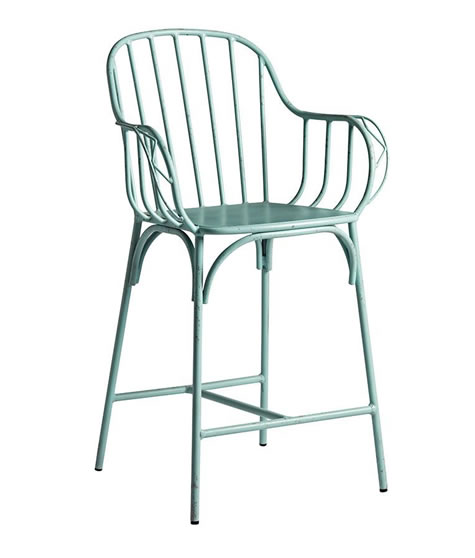 Dansoe aluminium bar stool indoor outdoor use