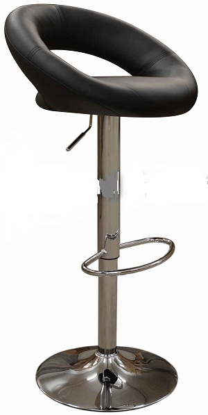 Star Bar Stool - Black