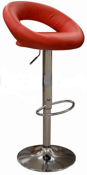 Star Bar Stool - Red