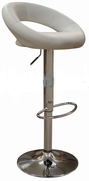 Star Bar Stool - White