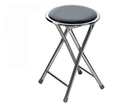 keyley folding padded kitchen stool