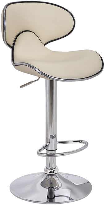 Planet Bar Stool - Cream