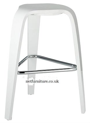 Drava Fixed Height Compact Bar Stool