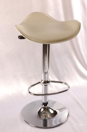 Hermy Breakfast Bar Stools Cream Seat Height Adjustable