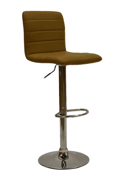 Vista Breakfast Bar Stool Coffee Padded Seat Height Adjustable