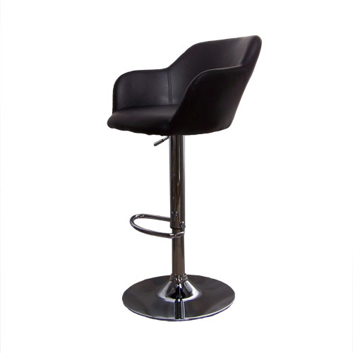 Hardoy Black Kitchen Breakfast Bar Stool Height Adjustable