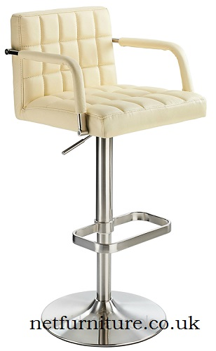 ChiChi Adjustable Retro Bar Stool - Also available in real or faux leather