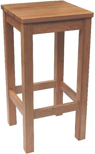 Lionel Bar Stool - Timber Seat