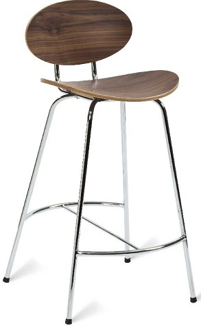 Oval Shaped Kitchen Bar Stool