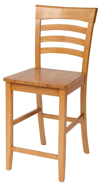 Country Cottage Bar Stool - Lacquer Finish