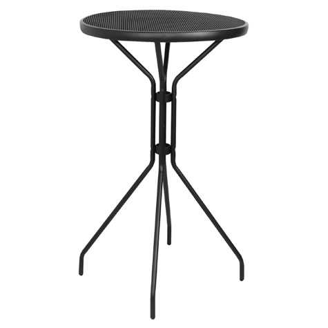 Maidone Tall Bar Kitchen or Garden Patio Table - Outdoor or Indoor Use - Commercial Quality
