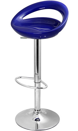 Radon Kitchen Bar Stool Retro Moon Style Height Adjustable