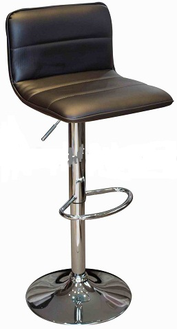 Prim Bar Stool - Black