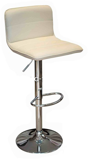 Prim Bar Stool - Cream