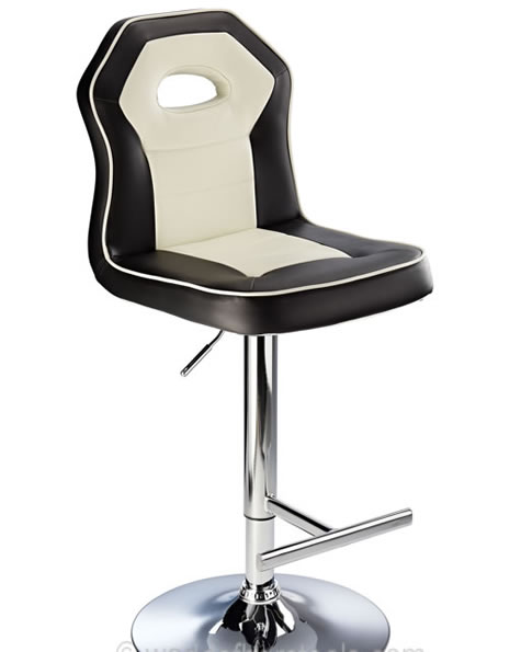 Redome Red Seat Kitchen Bar Stool