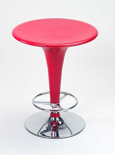 Red Bar Table - Adjustable