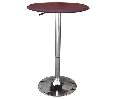 Cumbria Red Table - Adjustable