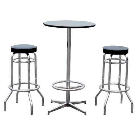 Superbe Bar Table U0026 2 Stools