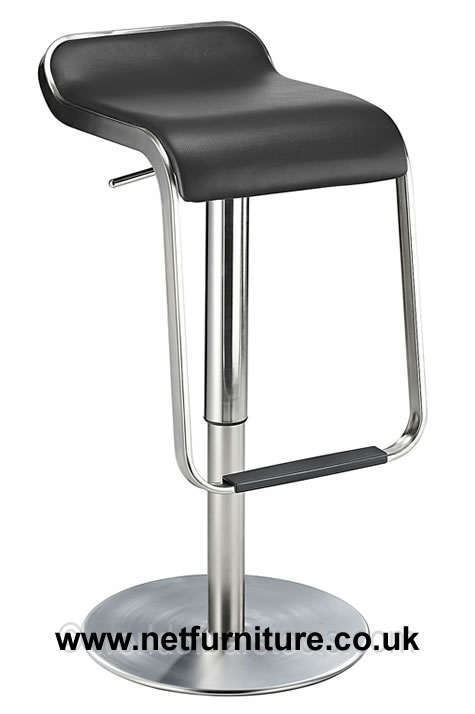 Kitchen Breakfast Bar Stools Chrome Brushed Steel