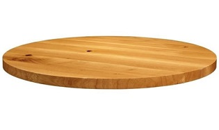 solant solid oak or ash table top 32mm thick
