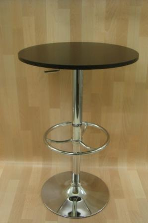 Tash Adjustable Tall Kitchen Bar Poseur Table