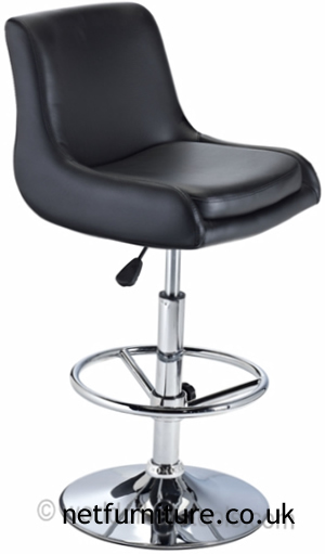 Tarina Bar Stool - Black