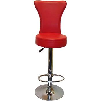 venice red bar stool