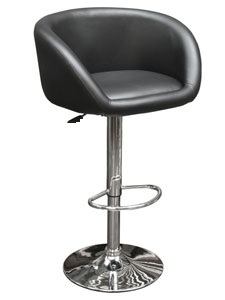 Lunar Padded Tub Seat Kitchen Bar Stool Height Adjustable