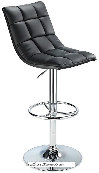 Scaponi Quality Kitchen Bar Stool - Black