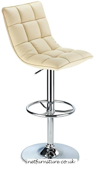 Scaponi Quality Kitchen Bar Stool - Cream
