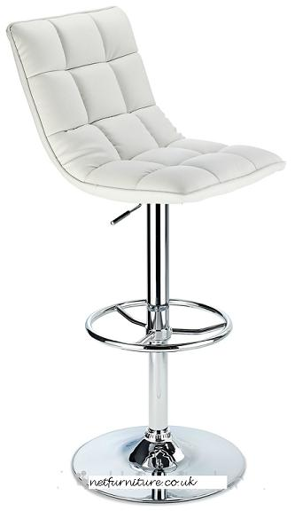 Scaponi Quality Kitchen Bar Stool - White