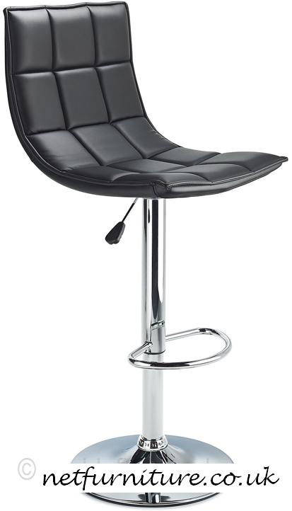 Andrea Quality Kitchen Bar Stool - Black