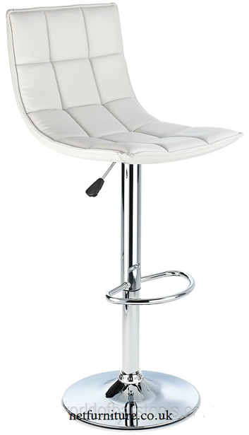 Andrea Bar Stool - White