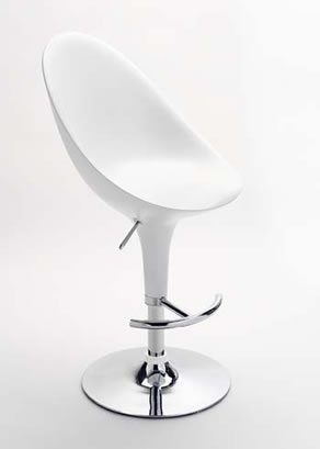 White Bar Chair