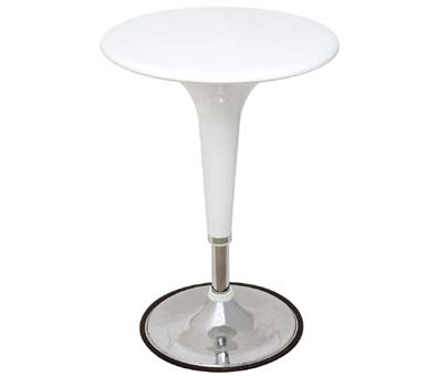 Sheraton White Table - Adjustable