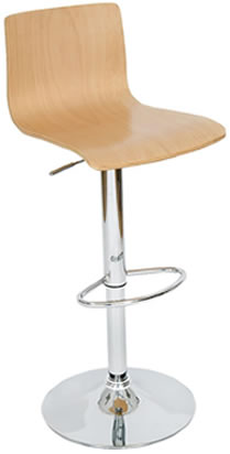 layvon wooden seat breakfast bar stool